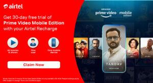 Airtel Prime Video